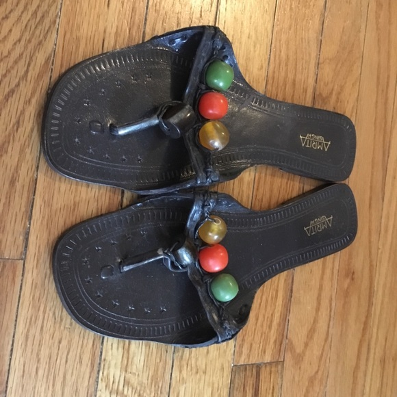 Amrita Singh Shoes - Amrita Singh leather sandals